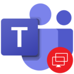 Демонстрация экрана в Microsoft Teams