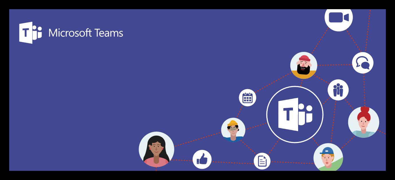 Картинка Общение в Microsoft Teams